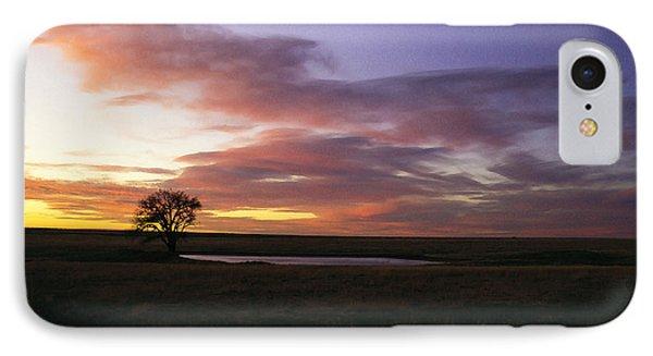 Lone Tree Pond IPhone Case