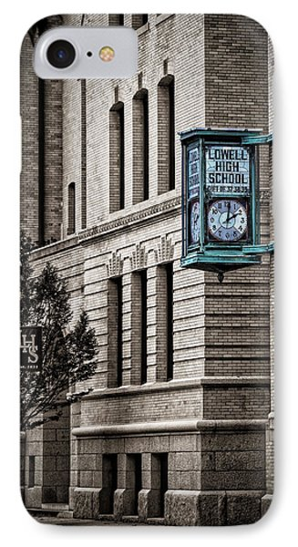 Lowell High School IPhone Case