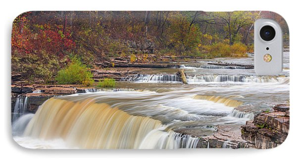 Lower Cataract Falls On Mill Creek IPhone Case