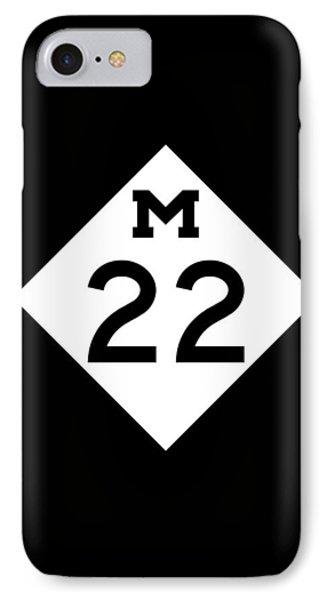 M 22 IPhone Case