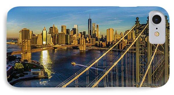 Manhattan Bridge At Dawn, New York IPhone Case