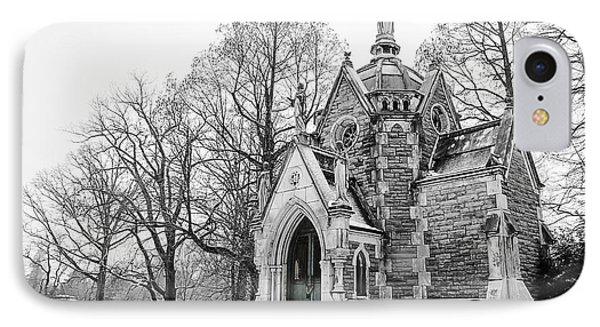 Mausoleum In Snow IPhone Case