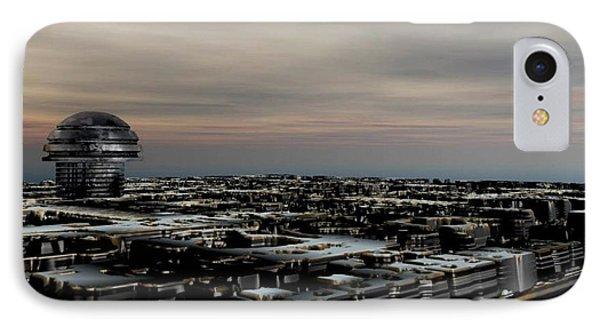 Metallic City IPhone Case