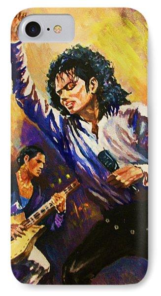 Michael Jackson In Concert IPhone Case