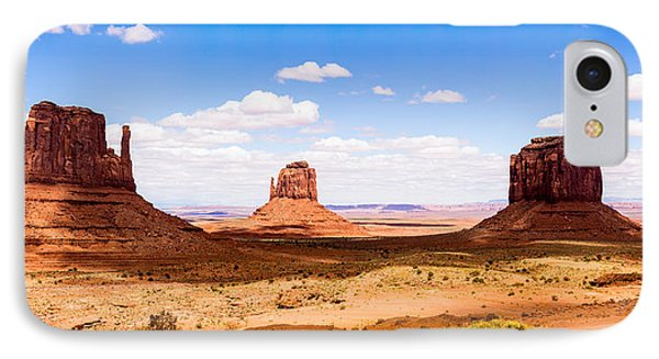 Monument Valley Panorama IPhone Case