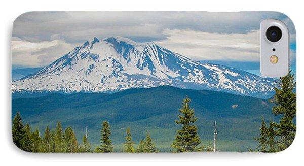 Mt. Adams From Indian Heaven Wilderness IPhone Case