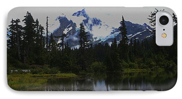 Mt Baker Washington  IPhone Case