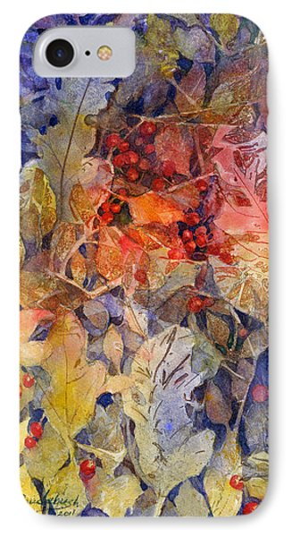 Nandina And Other Fall Foliage IPhone Case