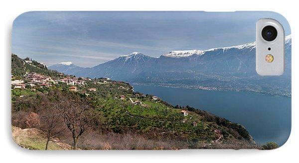 Near Tremosine, Lago Di Garda IPhone Case
