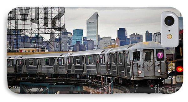 New York Train IPhone Case