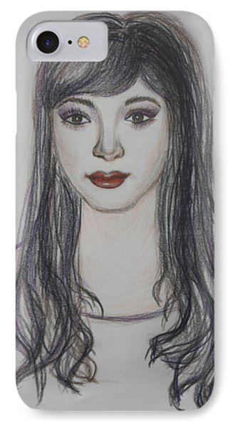 The Oriental Girl   IPhone Case