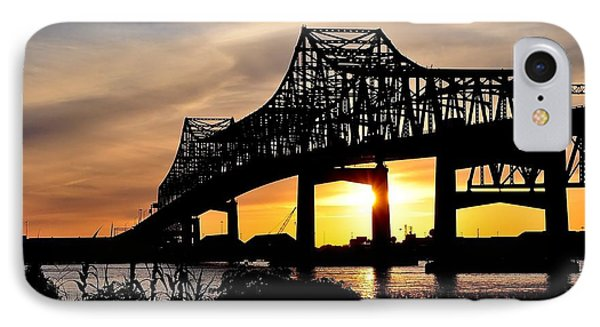 Over The Mississippi IPhone Case