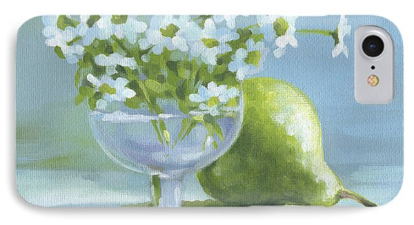 Pear And Daisies IPhone Case