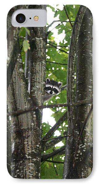 Peeking At Me IPhone Case