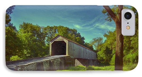 Pennsylvania Covered Bridge IPhone Case