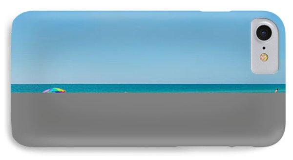 People On The Beach, Venice Beach, Gulf IPhone Case