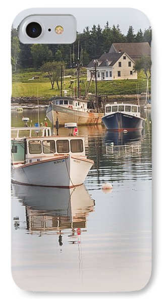 Port Clyde Maine Boats And Harbor IPhone Case