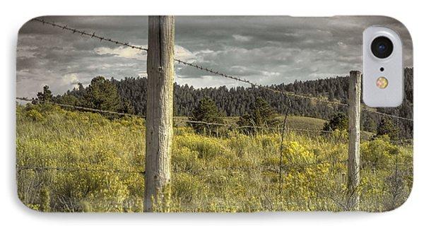 Prairie Fence IPhone Case
