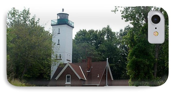 Presque Isle Lighthouse IPhone Case