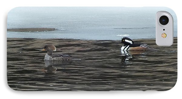IPhone Case featuring the photograph Pretty Ducks by Gene Cyr
