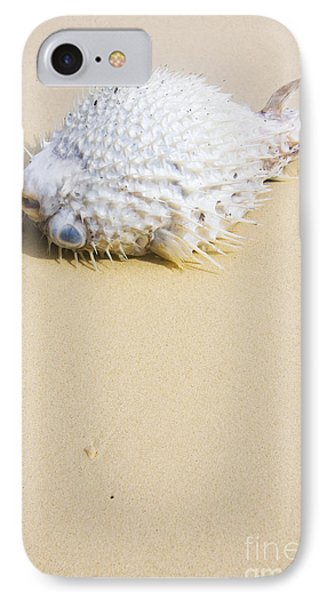Puffed Out Puffer Fish IPhone Case