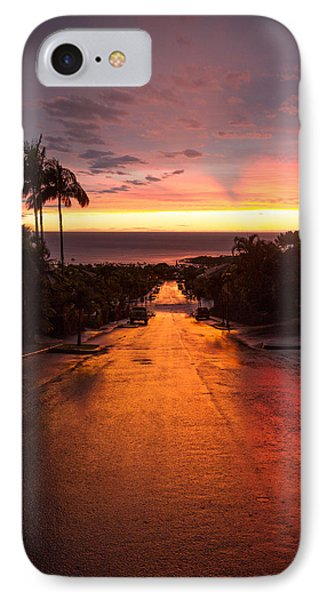 Sunset After Rain IPhone Case