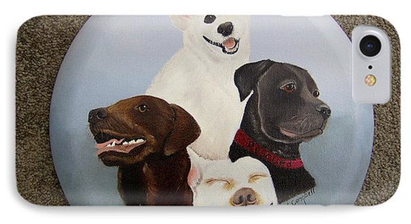 Rescued Is My Favorite Breed IPhone Case