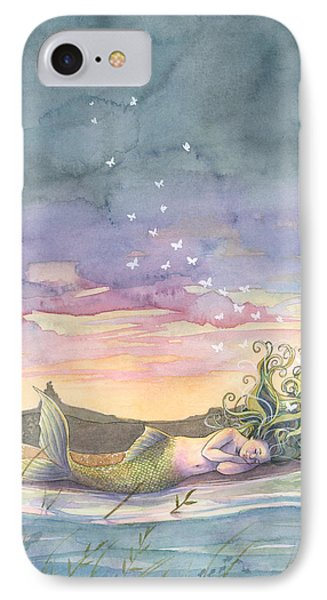 Whimsical iPhone 8 Case - Rest On The Horizon by Sara Burrier