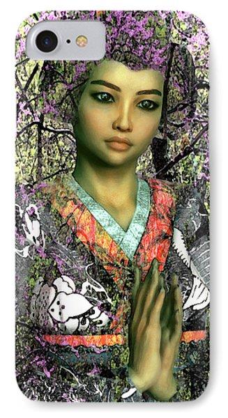 Saint Lucy Yi Zhenmei Of China IPhone Case