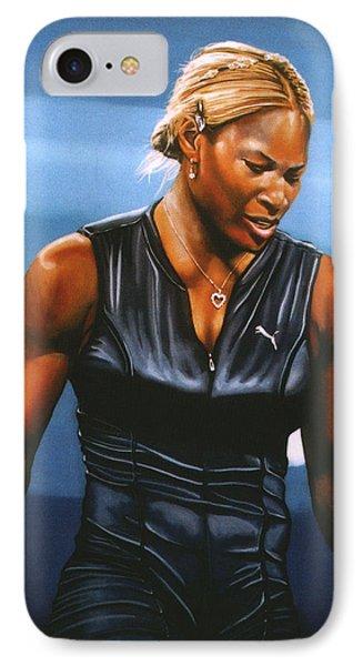 Serena Williams IPhone Case