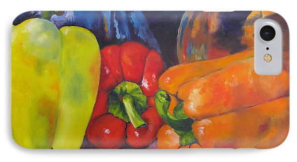 Shades Of Peppers IPhone Case