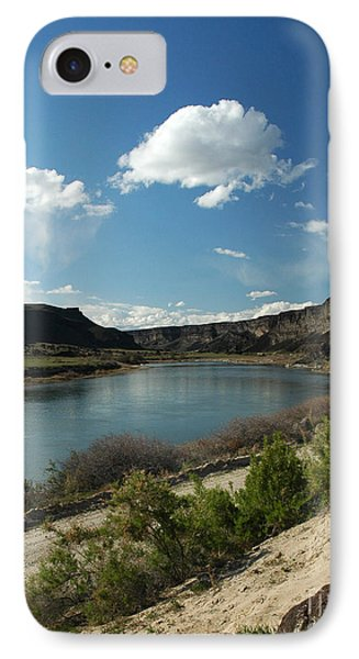 711p Snake River Birds Of Prey Area IPhone Case