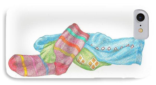 Socks 1 IPhone Case