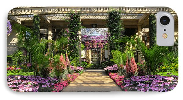Springtime At Longwood Gardens IPhone Case