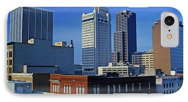 State Capital And Skyline In Little IPhone Case