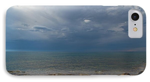 Storm Over Lake Superior IPhone Case
