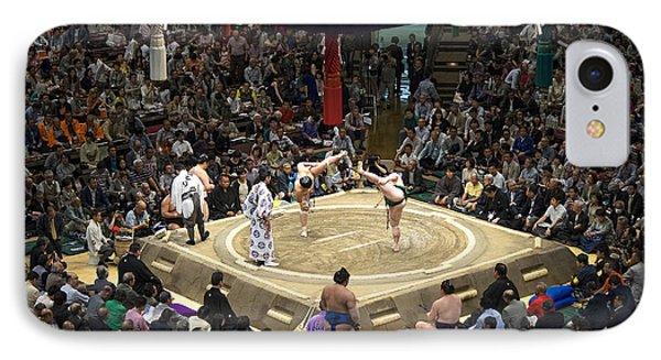 Sumo Summer Tournament 2014 Tokyo IPhone Case