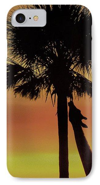 Sunset Giraffe IPhone Case