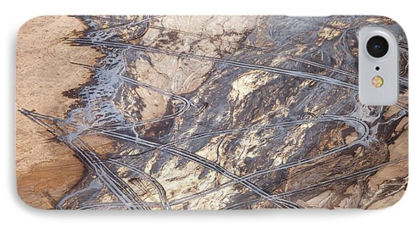 Tailings Pond At A Tar Sands Mine IPhone Case