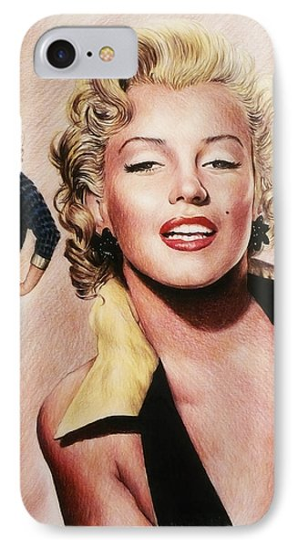 The Glamour Days Marilyn Monroe IPhone Case