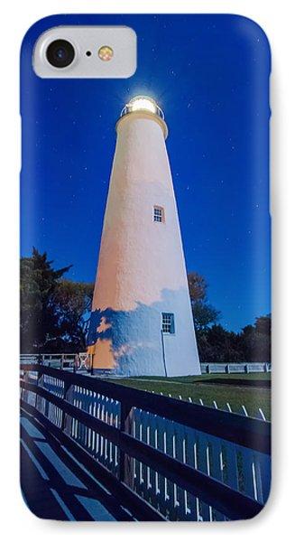 The Ocracoke Lighthouse On Ocracoke Island On The North Carolina IPhone Case