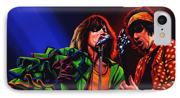 Rock And Roll iPhone 8 Case - The Rolling Stones 2 by Paul Meijering