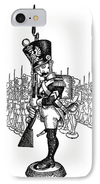 The Steadfast Tin Soldier IPhone Case