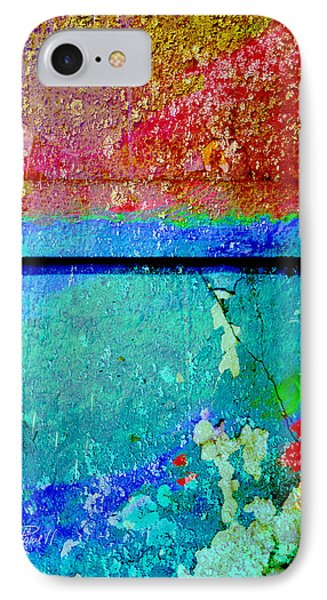 The Wall Abstract Photograph IPhone Case