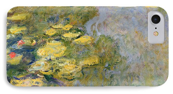 Impressionism iPhone 8 Case - The Waterlily Pond by Claude Monet