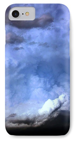 Nebraskasc iPhone 8 Case - There Be A Storm A Brewin In Nebraska by NebraskaSC