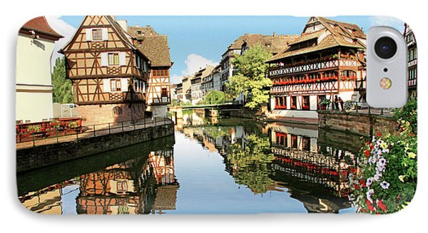 Timbered Buildings, La Petite France IPhone Case