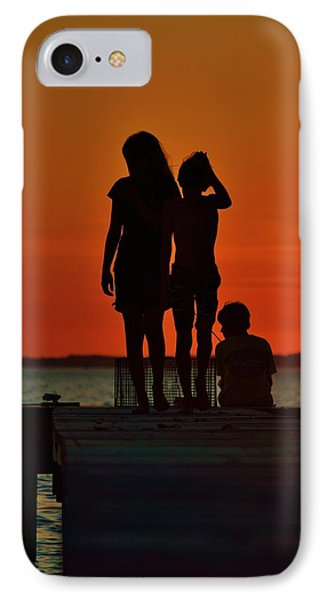 Time With Friends IPhone Case