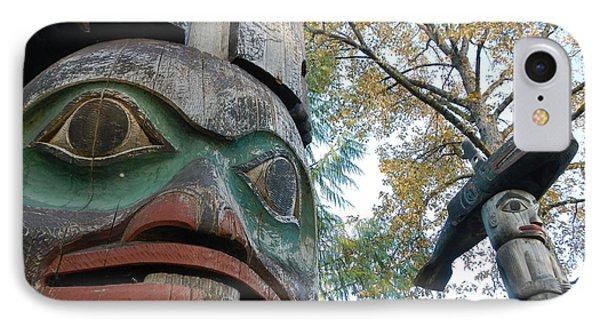 Tlingit Totem IPhone Case