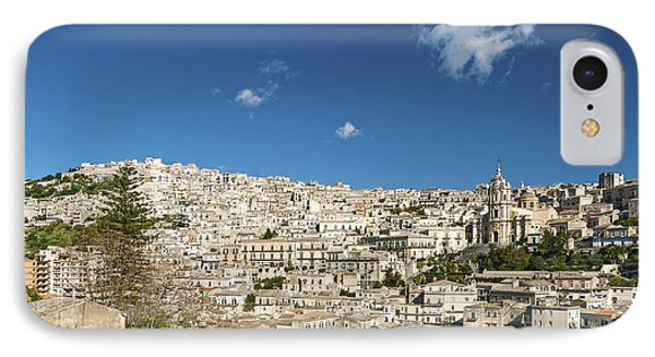 Traditional Houses Of Modica In Sicily Italy IPhone Case